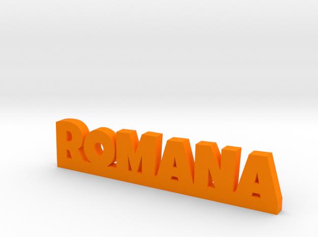 ROMANA Lucky in Orange Processed Versatile Plastic