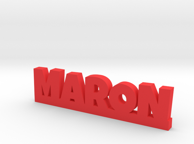 MARON Lucky in Red Processed Versatile Plastic