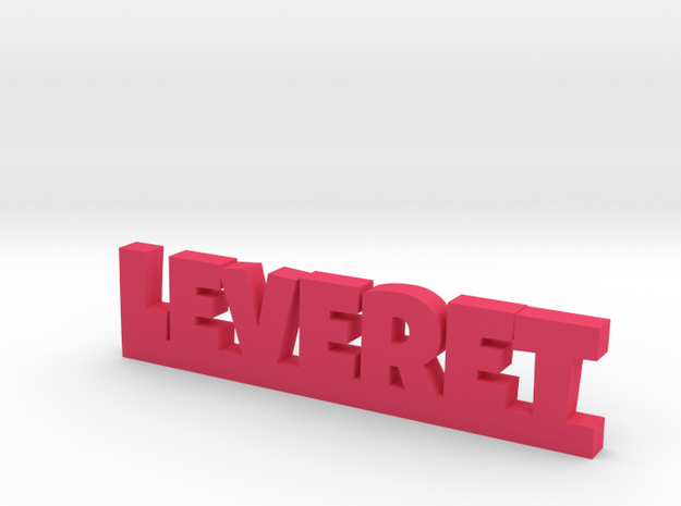 LEVERET Lucky in Pink Processed Versatile Plastic