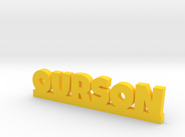OURSON Lucky in Yellow Processed Versatile Plastic