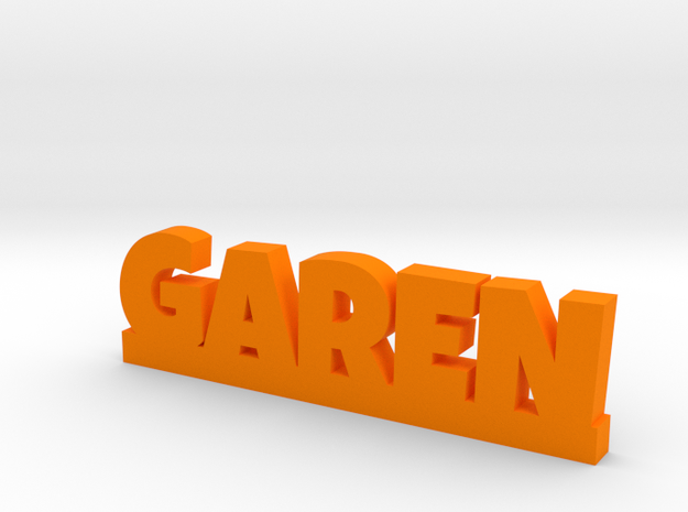 GAREN Lucky in Orange Processed Versatile Plastic