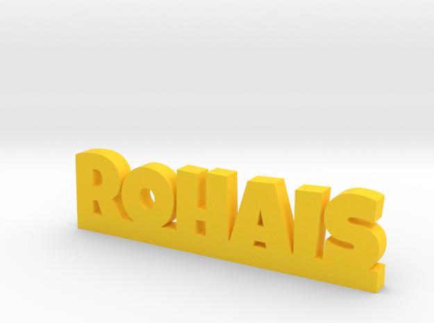 ROHAIS Lucky in Yellow Processed Versatile Plastic