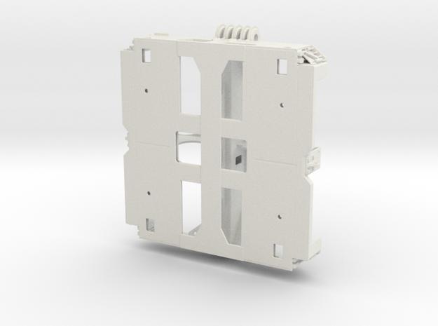 Goldhofer THP 2 axle Frame (prototype) 1/35 in White Natural Versatile Plastic