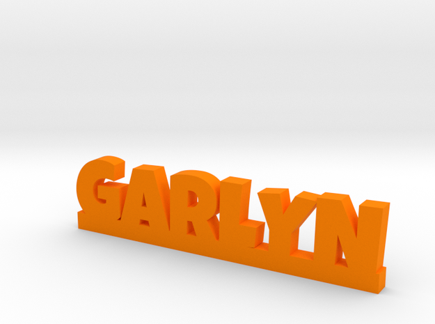 GARLYN Lucky in Orange Processed Versatile Plastic