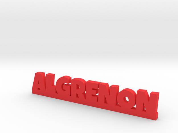 ALGRENON Lucky in Red Processed Versatile Plastic
