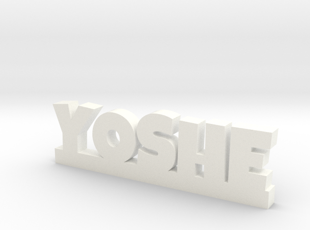 YOSHE Lucky in White Processed Versatile Plastic