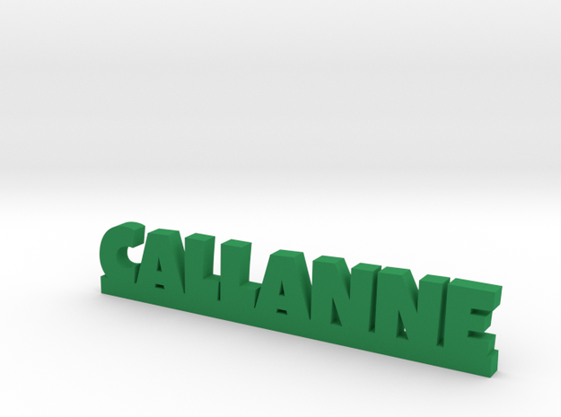 CALLANNE Lucky in Green Processed Versatile Plastic