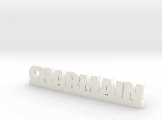 CHARMAIN Lucky in White Processed Versatile Plastic