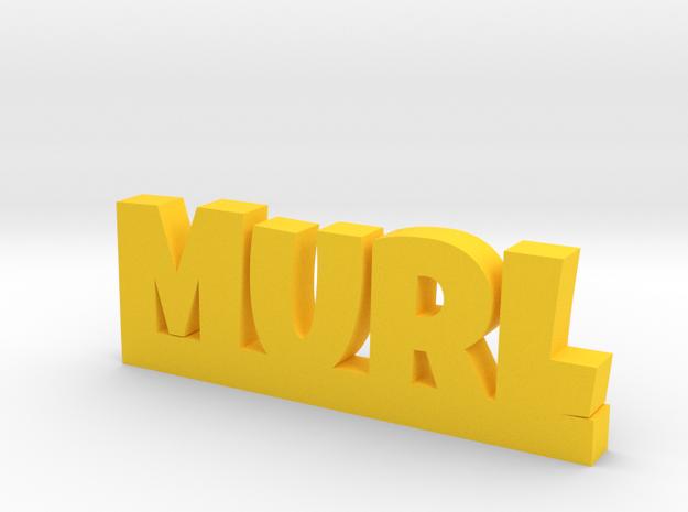 MURL Lucky in Yellow Processed Versatile Plastic