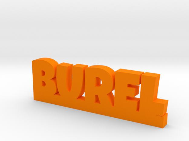 BUREL Lucky in Orange Processed Versatile Plastic