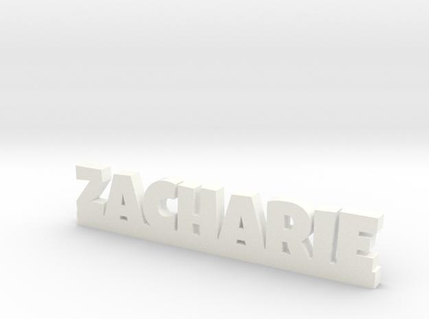 ZACHARIE Lucky in White Processed Versatile Plastic