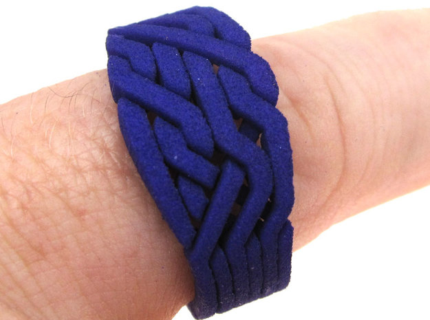 Loopy Six in Purple Processed Versatile Plastic