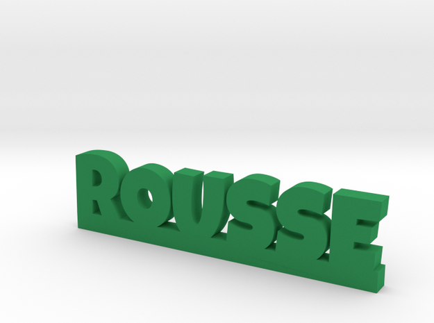ROUSSE Lucky in Green Processed Versatile Plastic