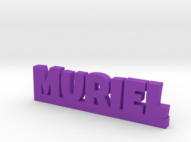 MURIEL Lucky in Purple Processed Versatile Plastic