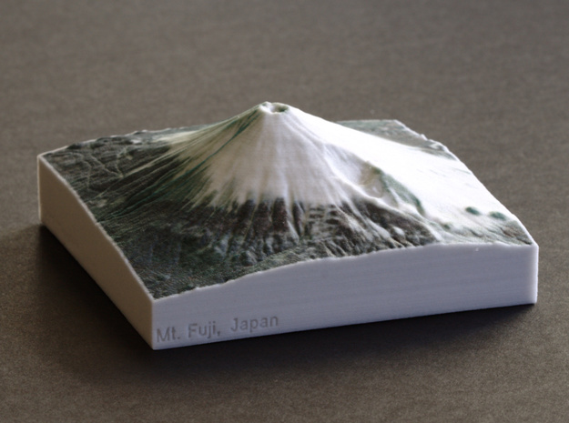 Mt. Fuji, Japan, 1:100000 Explorer in Full Color Sandstone