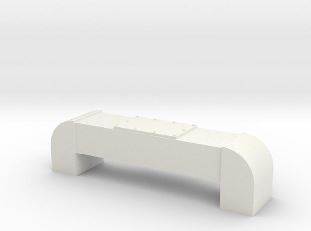 Horst Air Filter (Round) (G - 1:29) 1X in White Natural Versatile Plastic