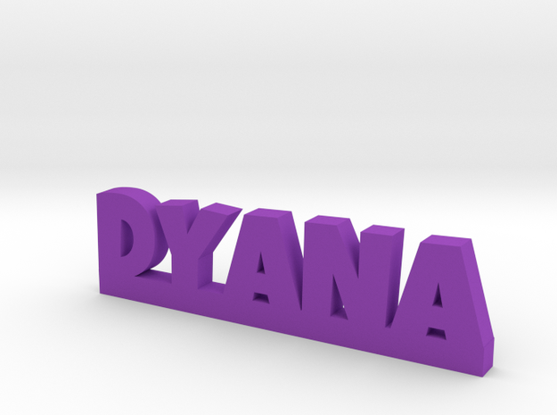 DYANA Lucky in Purple Processed Versatile Plastic