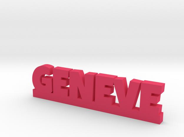 GENEVE Lucky in Pink Processed Versatile Plastic