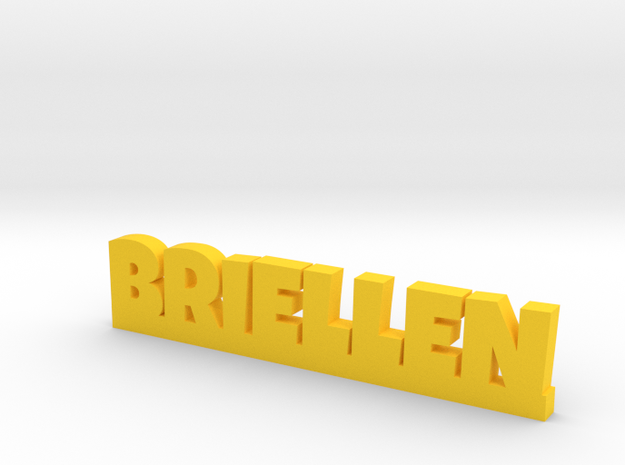 BRIELLEN Lucky in Yellow Strong & Flexible Polished