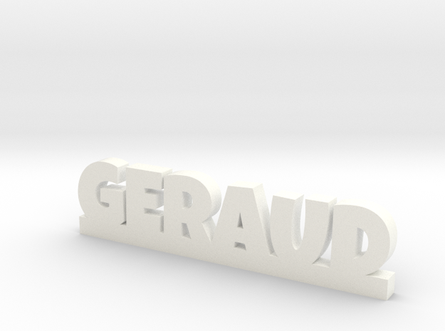 GERAUD Lucky in White Processed Versatile Plastic