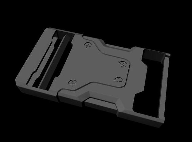 Snake Eyes Buckle 3d printed Maya render
