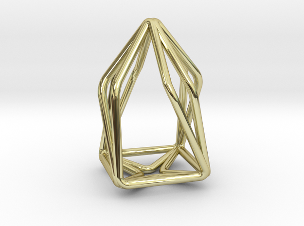 House Enmotion Pendant in 18k Gold Plated