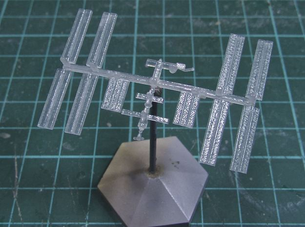 1/1000 NASA International Space Station ISS (FUD) in Frosted Ultra Detail
