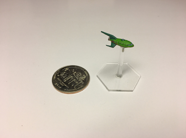 """1/2500 Futurama Planet Express """"PRINT IT ANYWAY"""" in Smooth Fine Detail Plastic"""