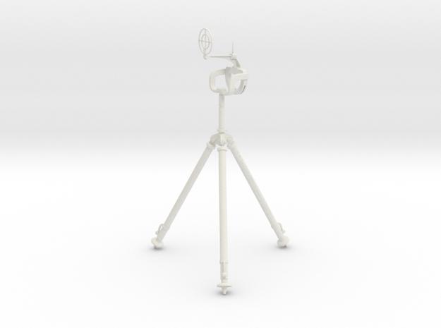 MG81Z Tripod GunMount 1:6 in White Natural Versatile Plastic