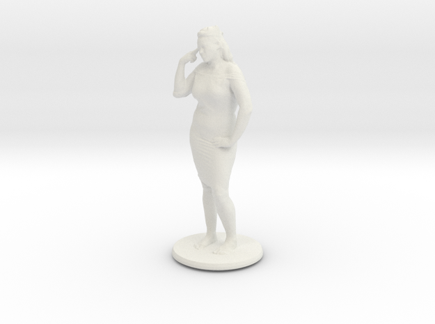 Printle C Femme 351 - 1/24 in White Strong & Flexible