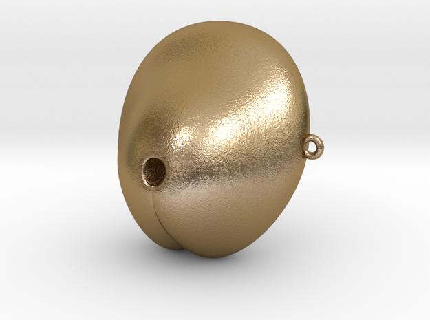 Electrosex Penis tip, E-Stim V3 Small in Polished Gold Steel