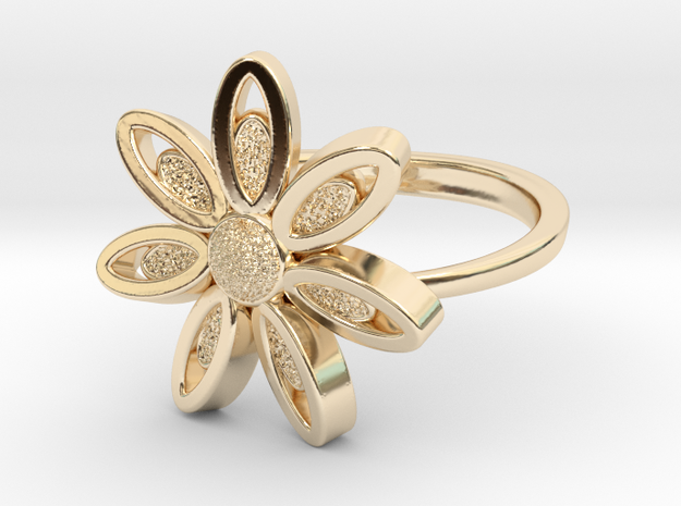 Spring Blossom -Ring in 14k Gold Plated