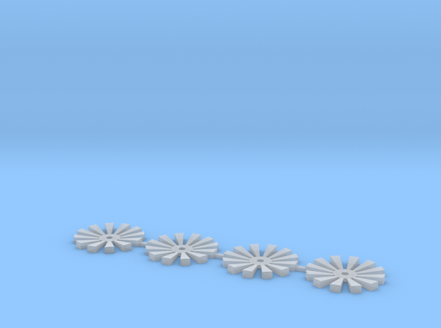Rim insert V5 in Smooth Fine Detail Plastic