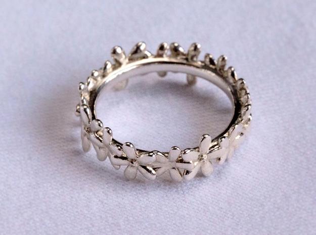 Daisyband in Premium Silver: 6 / 51.5