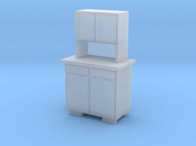 TT Cupboard 2 Doors A - 1:120 in Frosted Ultra Detail