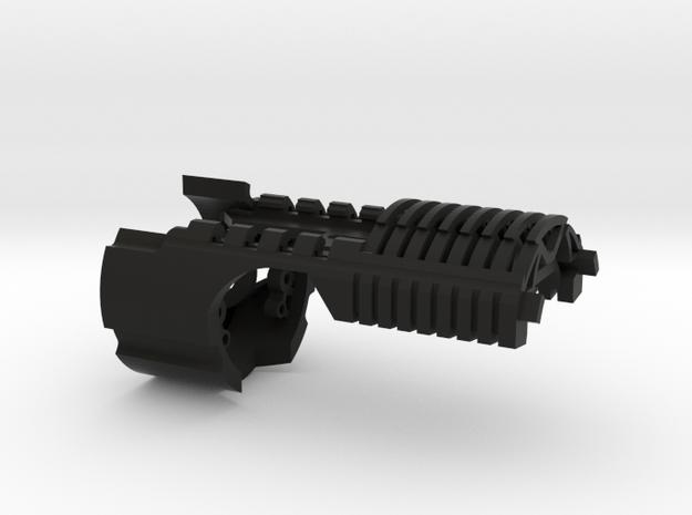 Main Chassis for Korbanth DV6 fits NBv3 in Black Natural Versatile Plastic