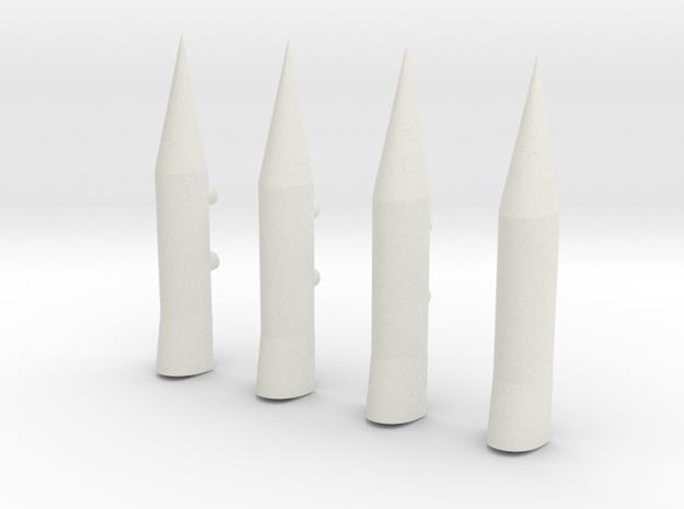 Saturn V 1:72 Interstage Ullage Rockets (4-Pack)