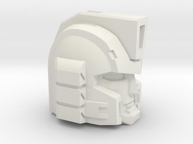 Professor Sharpshooter's Head Voyager 1pc in White Natural Versatile Plastic