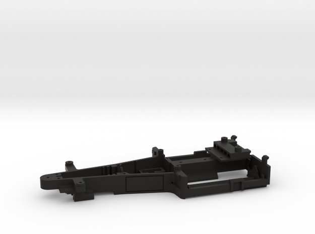 KMD-FR01 Main Chassis (VE) TPLATE VERSION in Black Natural Versatile Plastic