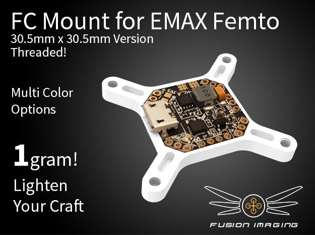 Femto FC 30.5x30.5mm Mount / Transfer Plate