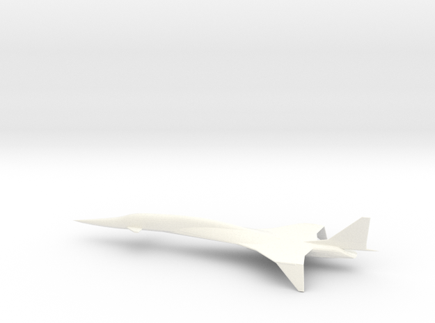 SSBJ Machingjay(supercruise) in White Strong & Flexible Polished: 1:250