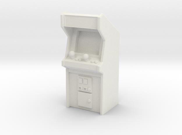 Arcade Machine (Plastic/Metal), 35mm in White Natural Versatile Plastic