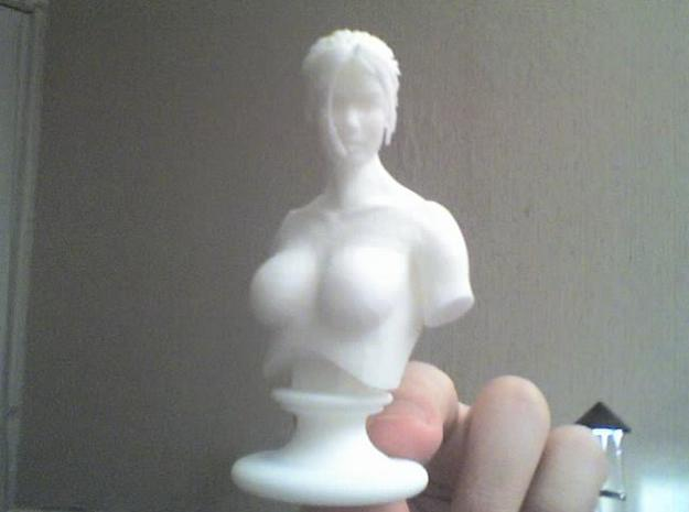 """Galatean Dream 3d printed Fun fact : Touching the """"bust"""" is a unique experience. Because it's a perfect bust I would like to see more often. ^^ PS : At work, the """"bust"""" part is already well polished. Go figures..."""