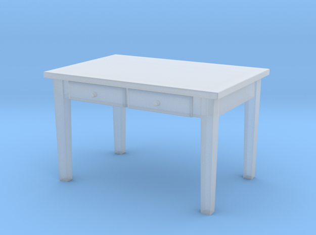 H0 Kitchen Table - 1:87 in Frosted Ultra Detail