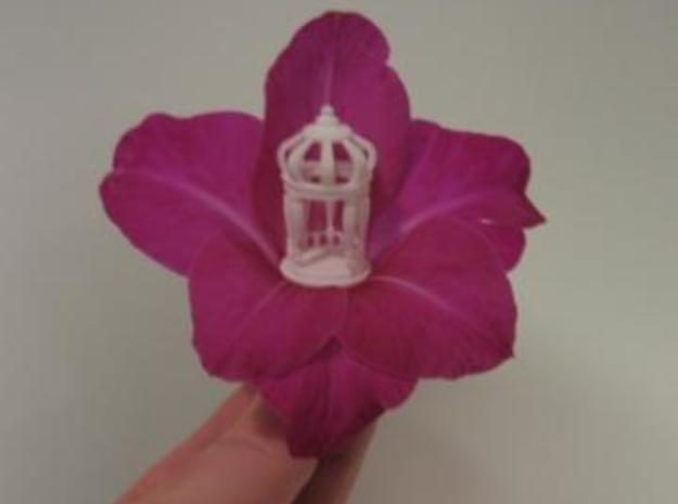 Gazebo 3d printed Look how tiny this faery gazebo is!