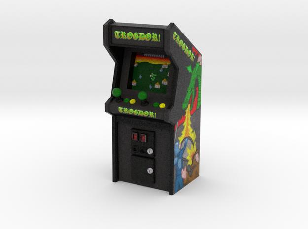 """3 3/4"""" Scale Trogdor Arcade Game in Full Color Sandstone: Medium"""