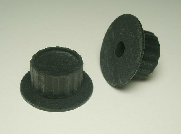 Spinner 1/4 3d printed Black detail