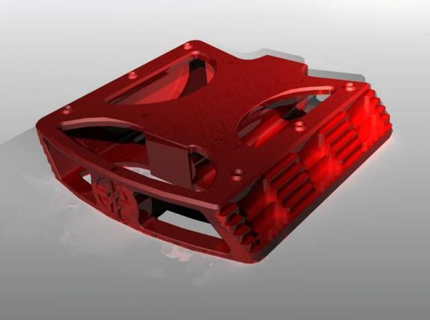 Pedal 3d printed rendered with Solid works