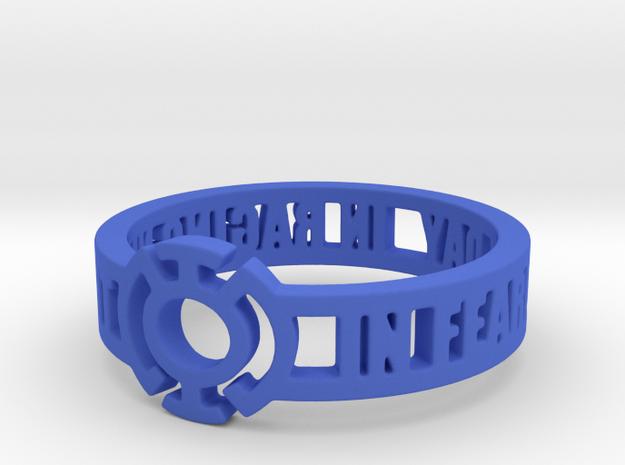 Blue Lantern Oath Ring