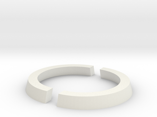25mm to 32mm Cut Ring in White Strong & Flexible